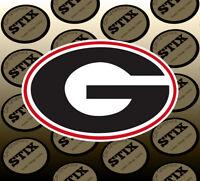 Georgia Bulldogs Logo NCAA Vinyl Die Cut Sticker Car Window Bumper Decal
