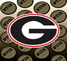 Georgia Bulldogs Logo NCAA Vinyl Die Cut Sticker Car Window Bumper Decal