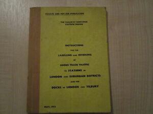 British Railways Drivers Instruction Book