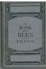 A Book about Bees by F.G.Jenyns First edition rebound 1886