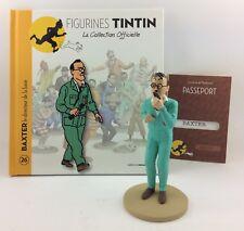 Collection officielle figurine Tintin Moulinsart 26 Baxter le directeur