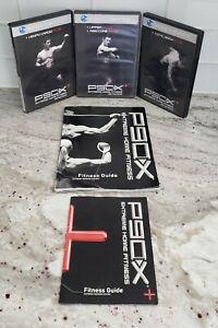 Beachbody P90X Plus Tony Horton Extreme Home Fitness 3 DVD Set Fitness Guide