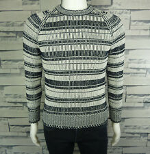 PULL COL ROND HOMME H&M STYLE CHINÉ TAILLE XS VALEUR 39 EUROS