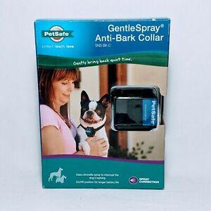 PetSafe Gentle Spray Anti-Bark Collar (SNS-BK-C)  Sealed In Box.  New Never Used