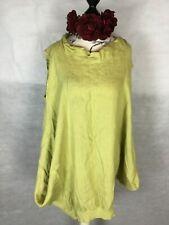 GREEN LINEN DRESS, BOHEMIAN, HIPPY LAGENLOOK