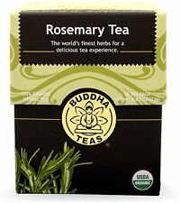 Rosemary Tea, Buddha Teas, 18 tea bag 1 pack