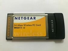 Netgear Wireless Pc Card Wg511 v2, 54 Mbps,