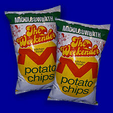 2 Bags MIDDLESWARTH POTATO CHIPS WEEKENDER BEST PENNSYLVANIA CLASSIC 10 OZ