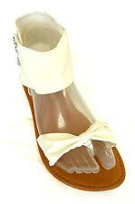 New  Ladies' T-Strap Ankle Strap Jewel Gladiator Flat Sandals Clearance--(8058L)