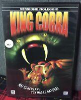 King Cobra DVD Mai Scherzare con Madre Natura ! Ex Noleggio Come da Foto N