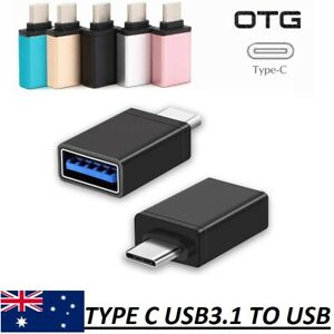 USB 3.1 Type C Male to USB 3.0 A Female Converter USB-C Cable Adapter OTG HQ