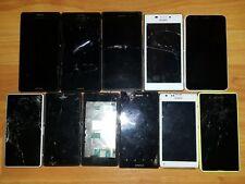 Sony Xperia 11x phones job lot bundle