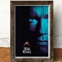 Total Recall Arnold Schwarzenegger Film Movie Glossy Print Wall Art A4 Poster