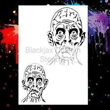 Zombie Set  Airbrush Stencil,Template