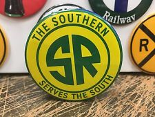 "THE SOUTHERN RAILROAD ""serves the south"" RAILWAY full backed refrigerator MAGNET"