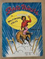 1948 AAFC BALTIMORE COLTS @ SAN FRANCISCO 49ERS FOOTBALL PROGRAM @ KEZAR AUG 22