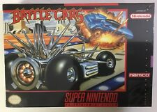 Battle Cars Super Nintendo SNES BRAND NEW FACTORY SEALED