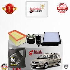 Mantenimiento Filtros + Aceite Dacia Logan 1.6 16V 77KW 105CV de 2011- >