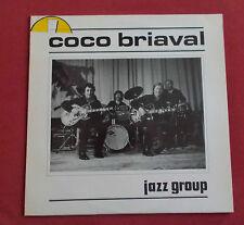 COCO BRIAVAL JAZZ GROUP LP ORIG FR  MANOUCHE