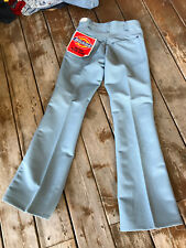 Vtg Usa Dickies workwear Flare western disco bell cut 29x31 men's pants jeans
