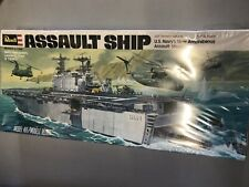 Vintage Revell USS Assault Ship (LHA-1) - 1977 - 1/720 - cat. no. H-406