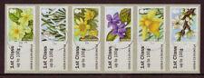 Sellos de Europa, usado, flores