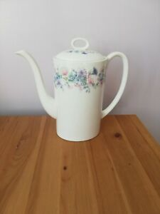 Wedgewood Angela Flower Design Large Tall Coffee Pot  Brand New never used £25
