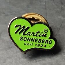 Martin Sonneberg PIN 15 x 10 mm grün emailliert Teddybären Teddybär Bär Teddy