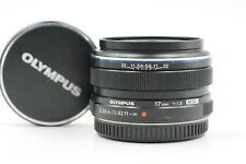 Olympus Digital 17mm f1.8 M.Zuiko MSC Lens 17/1.8 MFT #420