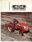 International McCormick Farmall Row-Crop & International 404 Utility Brochure