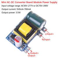 Mini AC-DC 110V 120V 220V 230V to 5V 700mA converter board module power suppATyu