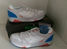 Diadora S8000 Made In Italy UK 9 US 9.5 BNIBWT White Micro Blue C2992