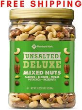Member's Mark Unsalted Deluxe Mixed Nuts (34 oz.) FREE SHIPPING