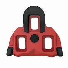 Exustar E-RSL11 red shimano SPD-SL antislip road shoe cleats 4.5 degree float