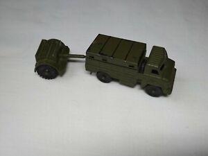 VINTAGE TOY TRUCK GAZ-66 + AMMUNITION TRAILER  MILITARY EQUIPMENT USSR