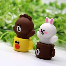 Lovely Mini Cup Bear Cartoon USB2.0 8GB-64GB flash drive memory stick pendrive