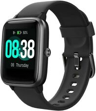 Smart Watch, Fitness Tracker IP68 Waterproof Men Women Color Full Touch