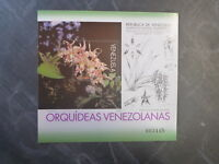 1996 VENEZUELA ORCHIDS STAMP MINI SHEET MNH #4