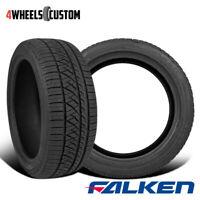 2 X New Falken Ziex ZE960 A/S 225/45R17XL Tires
