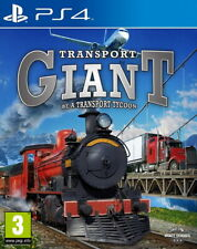 Transport Giant - Sony PlayStation 4 [Region Free, Simulator, Trains Tycoon] NEW