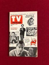 """1952, Howdy Doody, """"TV FORECAST"""" (Scarce) (No Label)"""