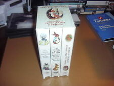 The World of Peter Rabbit & Friends by Beatrix Potter, 3 VHS Tapes, Exc. Cond.