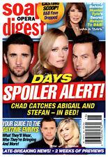 Soap Opera Digest Magazine - April 30, 2018 - Hunter Tylo, Chandler Massey