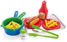 15 tlg Hot Dog Set für Spielküche Lebensmittel und Zubehör 226434 NEU ovp