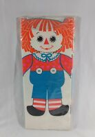 Raggedy Ann Andy Paper Tablecloth by Hallmark Vintage Party Birthday 60x102""