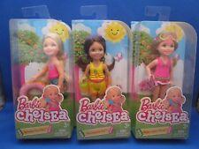 Barbie~Chelsea~Summer~Lot of 3~Sprinkle Sunday~Pineapple Pal~Watermelon Waves