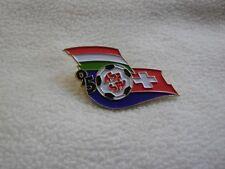 Hungary-Switzerland UEFA Football Euro 1996 preliminary match Budapest pin