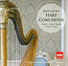 Best-Loved Harp Concertos : Best Loved Harp Concertos CD