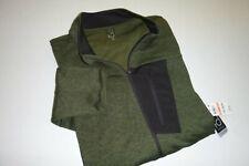 ideology mens designer full zip track jacket sz: xxxl color: green