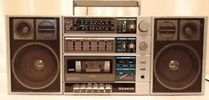 Sanyo C30 Vintage Radio Cassette Ghettoblaster Boombox
